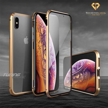 Кейс за Iphone XS - Gold Diamond 360