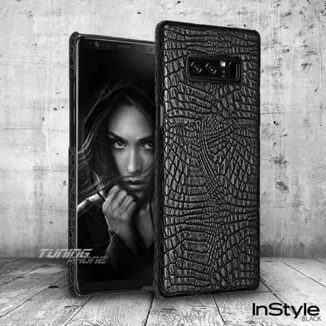 Кожен кейс за Galaxy Note 8 - Black Style